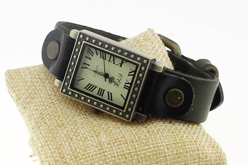Часы женские наручные винтажные Brooklyn black
