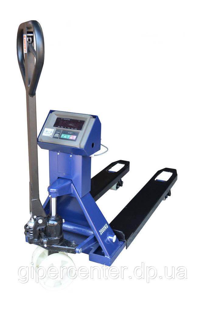 Весы-рокла электронные JBS-3000-1000 (1208) RK до 1000 кг.