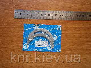 Полукольца упорные вала коленчатого (2шт) FAW-1011 (Фав)