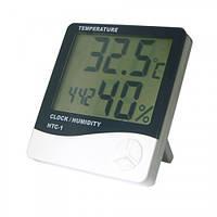 Термометр-гигрометр, часы, будильник HTC-1 VN