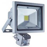 LED прожектор Lemanso 30W 6500k с датчиком движения (LMPS-30)