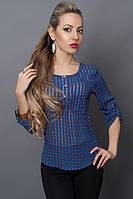 Модная блуза с левой стороны карман
