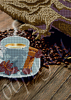 Схема для вышивания бисером Ароматный кофе с корицей КМР 4157