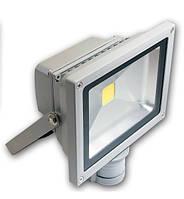 LED прожектор Lemanso 50W 6500k с датчиком движения (LMPS-50)