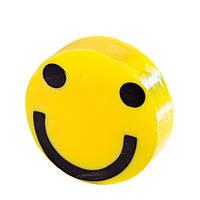 Глицериновое мыло куб С - Желтый смайлик, 100 г
