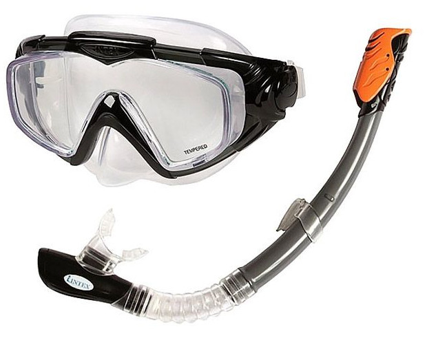 Intex 55962 набор для плавания (маска + трубка)