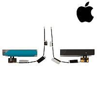 Шлейф для Apple iPad 2, антенны bluetooth, с компонентами (оригинал)
