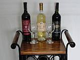 Сервировочный стол-стеллаж для вина (арт. PVKС-102-2), фото 6