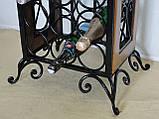 Сервировочный стол-стеллаж для вина (арт. PVKС-102-2), фото 10