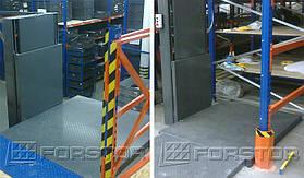 Грузоподъемность лифта — 300 кг. Высота подъема — 2,3 м.