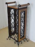 Сервировочный стол-стеллаж для вина (арт. PVKС-102-2), фото 3