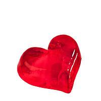 Глицериновое мыло - Середина Сердца (чисто красное), 55 г