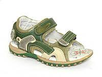 Детская обувь босоножки Шалунишка арт.TS-MZ9360Q1 хаки (Размеры: 25-30)