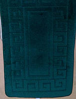 Набор ковриков для ванной  и туалета 50х80+40х50  MAXIMUS  ETHNIC HUNTER GREEN