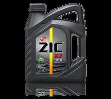 Синтетическое моторное масло ZIC X7 DIESEL 5W-30 6 литров