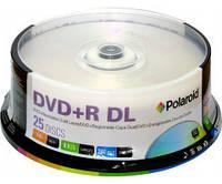 DVD+R Polaroid 8,5 GB 8x Double layer Cake box 25