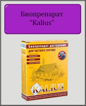 Биопрепарат Kalius 50 гр (для выгребных ям)