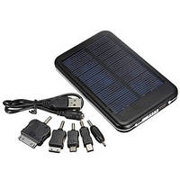 Зарядное устройство + солнечная батарея + аккумулятор 10000mAh Solar Powered Emergency Battery, фото 1