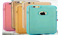 Силиконовый чехол для телефона A710 gold, Samsung Stripe TPU case