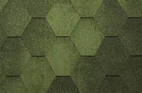 Битумная черепица Katepal Jazzy Зеленый