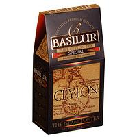 """Чай Basilur """"Чайный остров Цейлон""""  Особенный в картоне 100 г"""