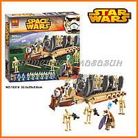 """Конструктор Bela аналог LEGO Star Wars 78086 """"Десантный самолет Боевых Дроидов"""" 565 деталей арт. 10374"""