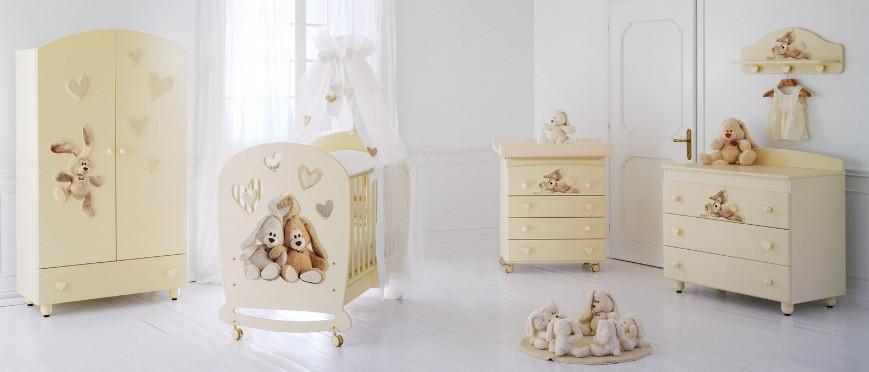 Комплект меблів для дитячої кімнати Baby Expert Cremino LUX