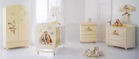 Комплект мебели для детской комнаты Baby Expert Cremino LUX, фото 2