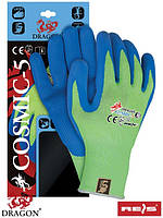 Защитные перчатки изготовлены из смеси стекловолокна и пряжи UHMWPE COSMIC-5 JZN