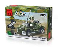 Конструктор Brick 803 Военная машинка
