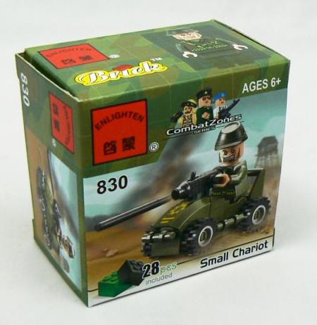 Конструктор Brick 830 Пулемётчик