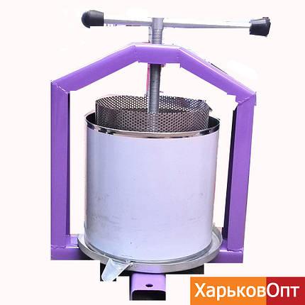 Пресс для сока 10 литров (Полтава) + кожух, фото 2