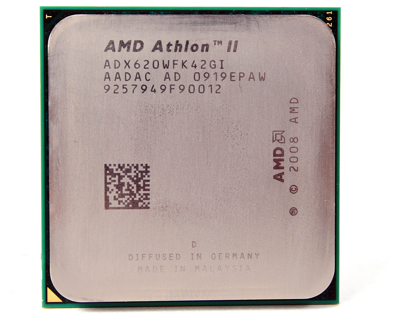 "Процессор AMD Athlon II X4 620 ADX620WFGIBOX 2.6GHz Socket AM3  Tray ""Over-Stock"" Б/У"