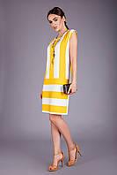 Яркое летнее платье из натуральной вискозной ткани