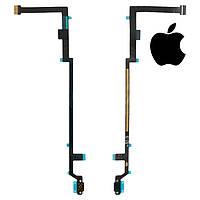 Шлейф для iPad 5 Air, кнопки home, с компонентами, оригинал