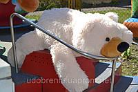 Мягкая игрушка МЕДВЕДЬ-Умка лежачий (белый и бурый)