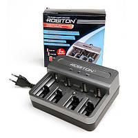 Автоматична зарядка для акумуляторів АА/ААА/C/D/Крона Зарядное устройство ROBITON Universal800-4