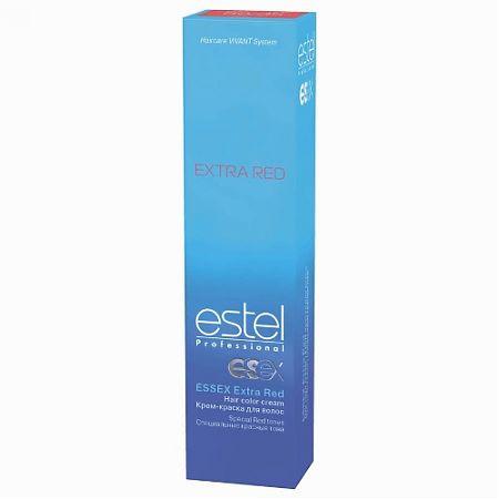 66/43 - Динамічна сальса ESTEL Essex Extra Red Крем-фарба для волосся 60 мл.