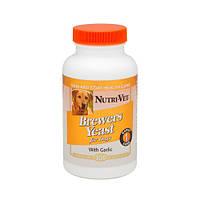 Nutri-Vet Brewers Yeast НУТРИ-ВЕТ БРЭВЕРС ЭСТ витаминный комплекс для шерсти собак, жевательные таблетки, 500 табл.