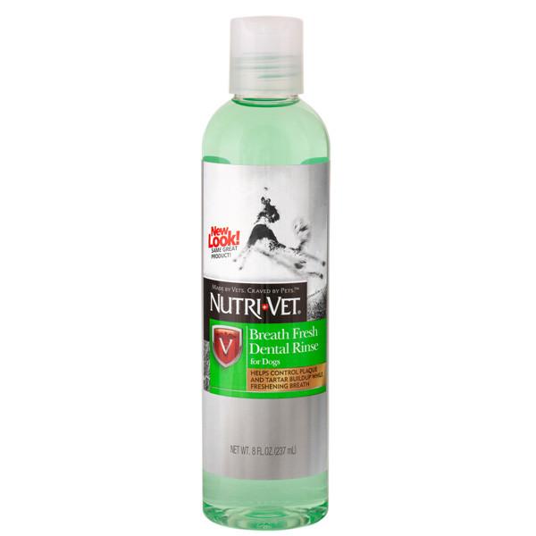 Nutri-Vet Breath Fresh НУТРИ-ВЕТ СВЕЖЕЕ ДЫХАНИЕ жидкость для собак от зубного налета и запаха из пасти