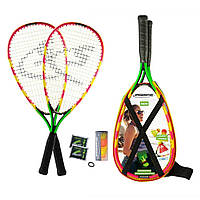 Набор для спидминтона Speedminton Set S600 Green/Yellow/Red
