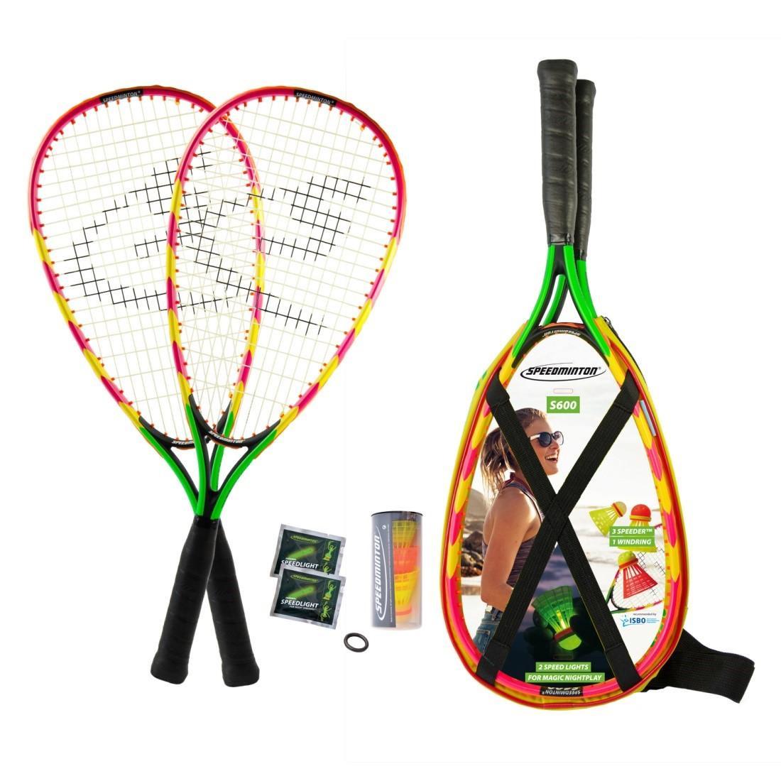Набор для спидминтона Speedminton Set S600 Green/Yellow/Red - Интернет-магазин Sports Trend в Киеве