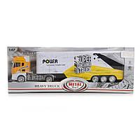 Игрушечный автомобиль с рефрижератором  IM310/YL желтый (T45-0083)