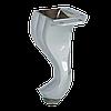 Ножка мебельная металлическая AMNA003/130 хромированная