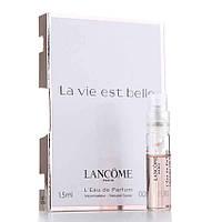 Lancome La Vie Est Belle - Парфюмированная вода (Оригинал) 1,2ml (пробник)