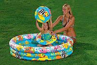 Детский надувной бассейн Intex Рыбки