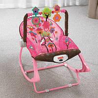 Кресла-качалки Fisher-Price Infant-To-Toddler Rocker с рождения до 4 лет