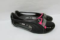 Балетки женские черные Puma (303406-03) оригинал код 0261А