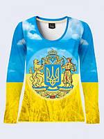 Лонгслив Большой Герб Украины