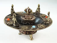 Подставка для ароматических безосновных палочек с Буддами